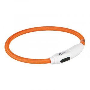 Trixie Flash anneau lumineux usb pour chats - 35 cm/ø 7 mm, orange