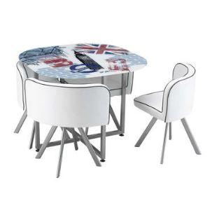 Table et 4 chaises Big Ben