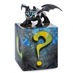 Spin Master Coffret 2 Figurines - Dragons 3 - Krokmou + 1 Figurine Mystère