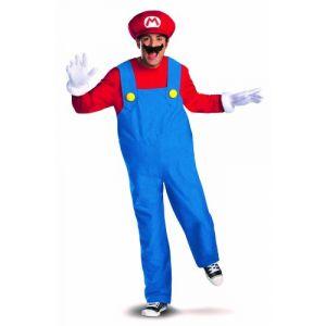 Déguisement Mario deluxe adulte