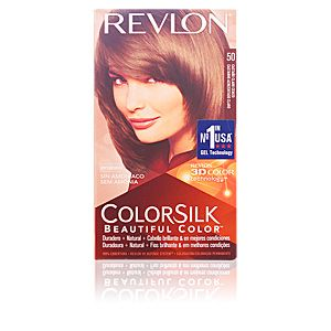 Revlon Colorsilk 50 châtain clair cendré - Coloration permanente sans amoniaque