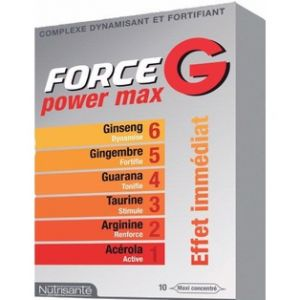 Nutrisanté Force G Power Max -10 ampoules