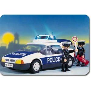 Playmobil 3904 - Policiers : voiture de Police