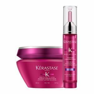 Image de Kérastase Duo masque Chromatique pour cheveux fins