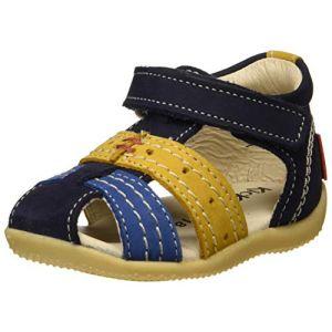 Kickers Sandales enfant Bigbazar Bleu - Taille 19,20,21,22