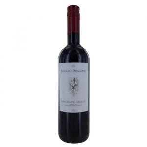 Poggio Dragone Terre di chieti Vin Rouge d'Italie