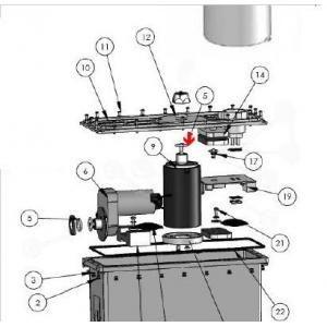 Procopi 1013068 - Joint de flasque moteur Patriote (18,4x2,7 mm)