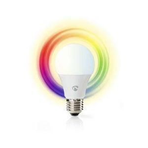 Nedis AMPOULE LED INTELLIGENTE WI-FI   PLEINE COULEUR ET BLANC CHAUD   E27
