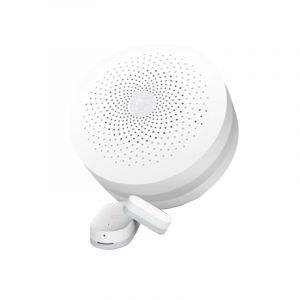 Xiaomi Domotique Maison connectée pour Smart Home Suite Devices Kit Intelligent Mini Porte Fenêtre Capteur + Multifonctionnel Passerelle Version Mise À Niveau