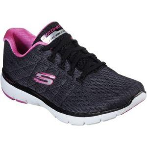Skechers Chaussure de running - Flex appeal 3.0 - Noir /rose Femme 41