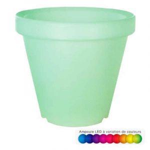 Cache-Pot Lumineux LED 65cm Multicolore