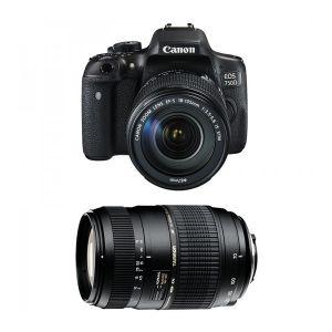Canon EOS 750D (avec 2 objectifs 18-135mm et Tamron 70-300mm)