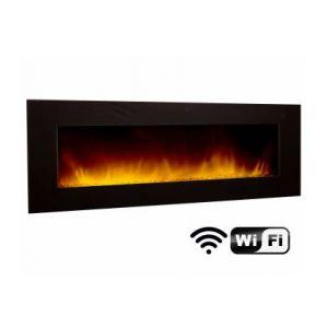 Chemin'Arte Volcano 5XL Wifi - Cheminée décorative électrique 180 cm