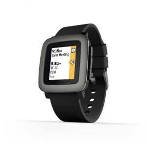 Pebble Time - Montre connectée Bluetooth (IOS,Android)