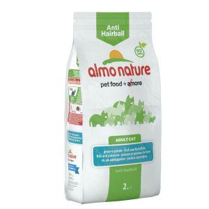 Almo Nature Chat Anti Hairball Poisson et pommes de terre 2 kg