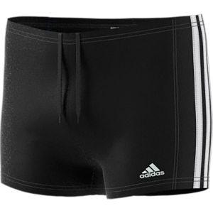 Adidas Essence - Boxer de Bain - Garçon - Noir (Black/White) - FR: 7-8 ans (Taille Fabricant: 128)