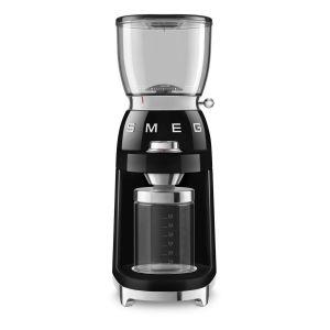 Smeg CGF01BLEU Noir - Broyeur à café