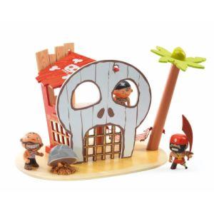 Djeco Arty Toys Ile aux pirates