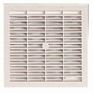 Nicoll Grille carrée moustiquaire passage de 50 cm² B64 -