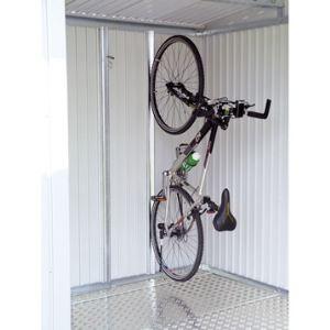 Biohort Support à vélo BikeMax en acier galvanisé pour abri de jardin Europa