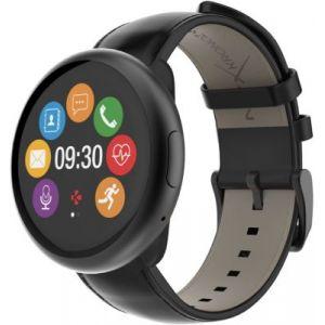 Image de Mykronoz Zeround 2HR Premium - Montre connectée écran couleur tactile circulaire et capteur de rythme cardiaque