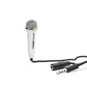 Kikkerland Fabuleux mini microphone esprit karaoké