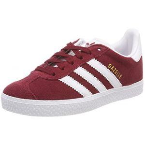 Adidas Gazelle C Mixte Enfant, Rouge (Buruni/Ftwbla / Ftwbla 000), 32 EU