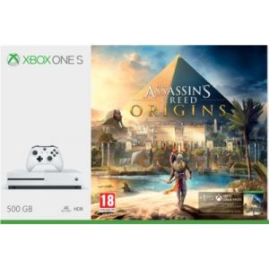 Microsoft Xbox One S 500 Go + Assassin's Creed Origins