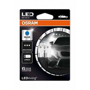 Osram Ampoule LED pour l'habitacle 2850BL LED Retrofit W5W 12 V W2.1x9.5d (Ø x L) 10 mm x 27 mm 1 paire