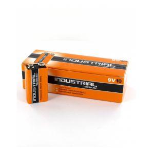 Image de Duracell 10 piles 9V Industrial PC1604