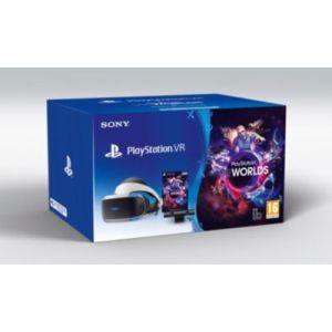 Sony Playstation VR + Caméra V2 + VR Worlds - Casque de réalité virtuelle