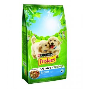 Friskies Junior Poulet Et Légumes pour Chiots - 7.5 Kg