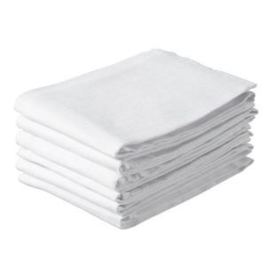Jollein 6 couches lavables Hydrofile emballés - Blanc