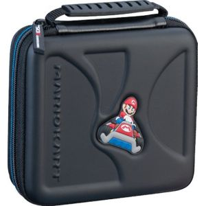 Bigben Pochette de Transport Rigide Mario Kart Pour Nintendo 2DS et 3DS Noir