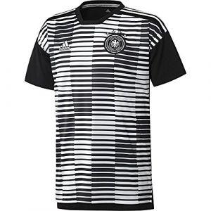 Adidas Maillot Pré-match Allemagne Noir/Blanc
