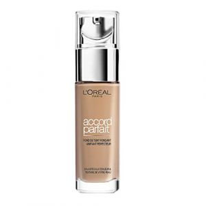 L'Oréal Make Up Designer - Accord Parfait Fond de Teint Fluide Unifiant Beige Neutre (4.N) 30ml