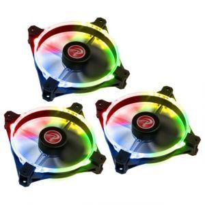 Raijintek Pack de 3 ventilateurs Macula 12, 120 mm