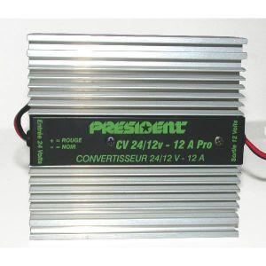 Réducteur de tension 24V / 12V extra plat