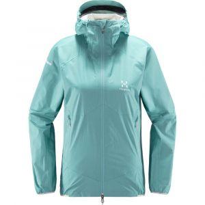 Haglöfs L.I.M Proof Veste multisport Femme, glacier green XS Vestes de pluie
