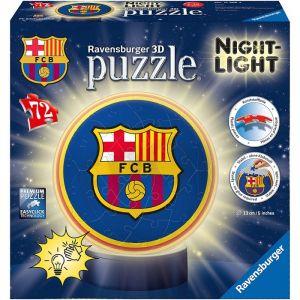 Ravensburger Puzzle Ball 3D avec Led - FC Barcelone