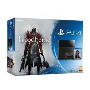 sony console ps4 500 go le jeu bloodborne comparer avec. Black Bedroom Furniture Sets. Home Design Ideas