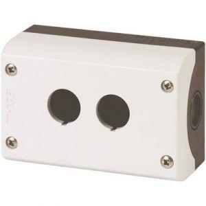 Eaton Boîtier en saille pour boutons 2 perçages IP67 gris RMQ-Titan