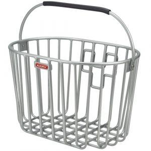 Rixen & Kaul KlickFix panier de vélo aLUMINO Argent Silber - silber Taille unique