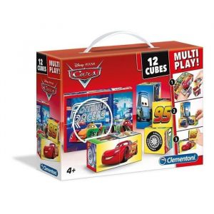 Clementoni 12 cubes Multi Play Disney Cars
