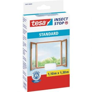 Tesa Moustiquaire STANDARD pour fenêtre, 1,10 m x 1,30 m