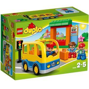 Duplo 10528 - Ville : Le bus scolaire