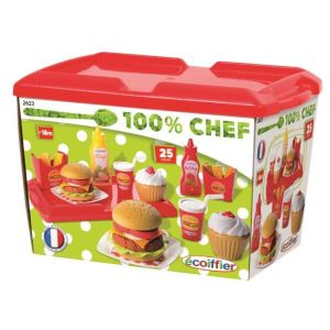 Ecoiffier 2623 - Set hamburger