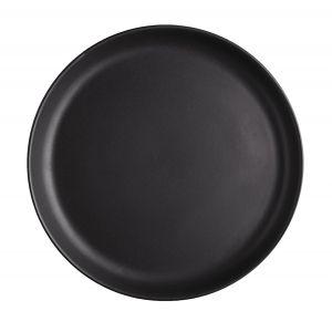 Eva Solo Assiette plate Nordic kitchen / Ø 22 cm - Grès noir mat en céramique