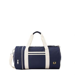 Fred Perry Sac de sport Twin Tipped Barrel Bag 31 litres Navy