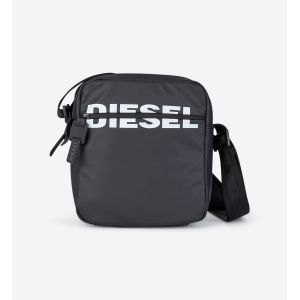 Diesel BOLDMESSAGE DOUBLECROSS, Sac et portefeuille Homme Noir (Black) 8x18x34 cm (W x H x L)